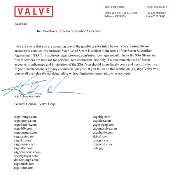 Valve-cease-and-desist-letter-csgo-skin-gambling