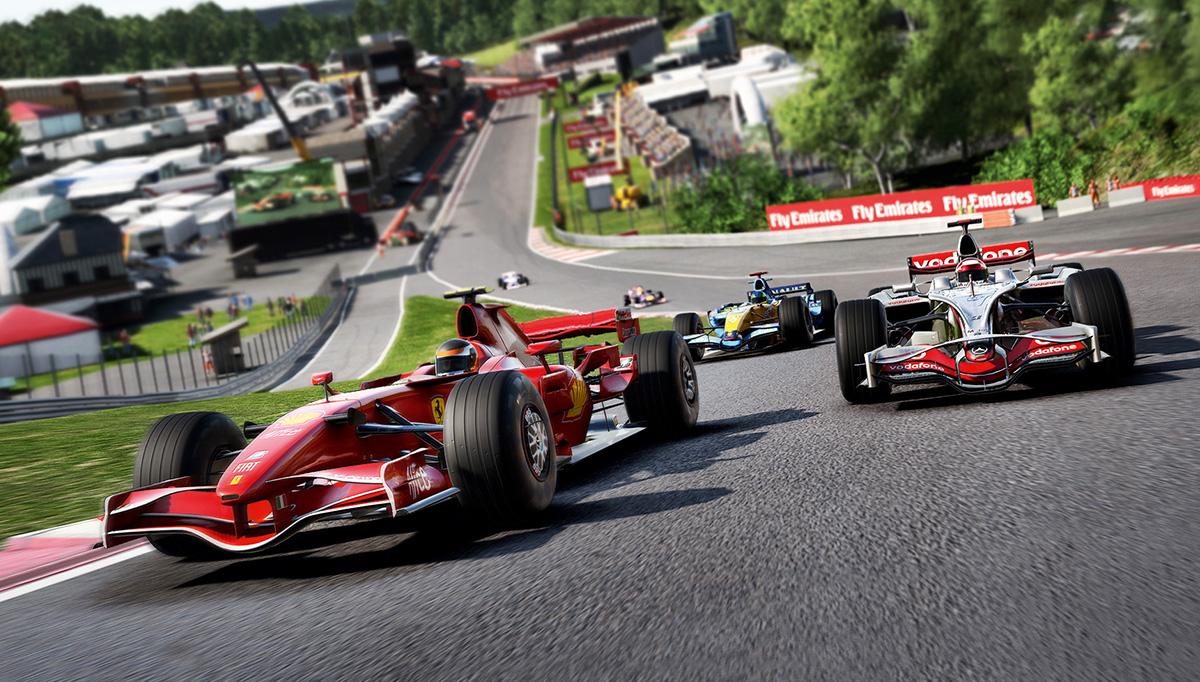 F1 w natarciu